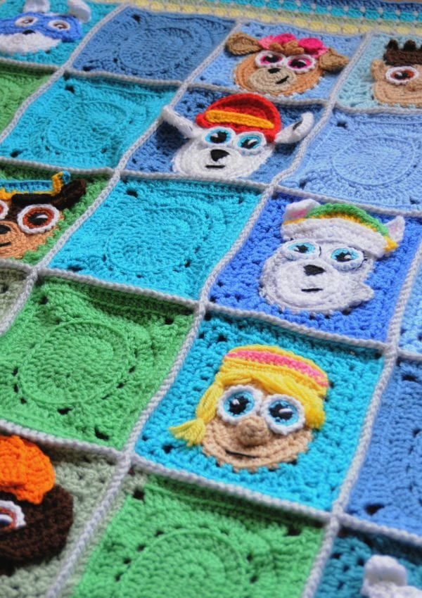 How To Turn Your Paw Patrol Puppies Baby Blanket From Blah Into Fantastic